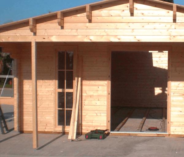 Casas prefabricadas de madera casasdemadera top - Refugios de madera prefabricados ...