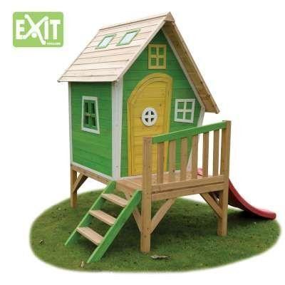 Casita-infantil-EXIT-Fantasia-300-Green-0