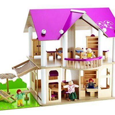 Eichhorn-2513-Casa-de-muecas-de-madera-con-muebles-y-figuras-Simba-Dickie-0